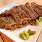 熟成肉とチーズ 肉割烹バル 和牛男cowboy - Tボーンステーキ