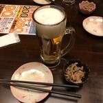ビール100円『たんと』 -