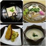 丹巌洞 - 椀物、煮物、揚物、蒸し物