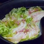 しゃぶしゃぶ温野菜 - ミルフィーユ鍋