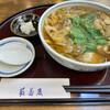 新潟古町 藪そば - 料理写真:牡蠣蕎麦