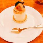 一善や - 料理写真:オレンジレアチーズ(486円)