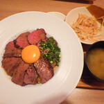 エルカンティーナ - 牛はらみ丼定食