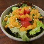 カフェ 呂久呂 - セットのサラダ