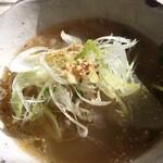 ヴェール・デ・グリ - 大根の生姜味スープ