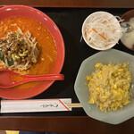 祥龍餃子房 - 担々麺セット