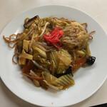 中央食堂 - 料理写真:野菜あんかけ焼きそば 800円