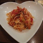 コッコロ - coccoloランチ 若ゴボウとキノコのトマトソース (フィットチーネ)