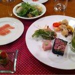 12419586 - 前菜とサラダ(ディナー)