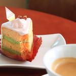 ポーク ワパ - 料理写真:シホンケーキですねえ〜