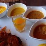サプコタ - ポークカレー、野菜カレー、シーフードカレー