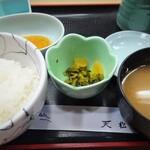 天松 - ご飯
