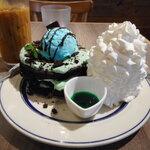 124195192 - ミントチョコレートパンケーキ