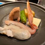 魚菜家 旬蔵 - 陶板焼
