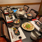 魚菜家 旬蔵 - セッティング