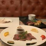124197882 - 【ステーキ】『最高級』仙台牛のサーロインステーキ