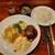 山ひげ - 料理写真:高級店だけどランチはガッツリ!ライスとスープ付き、ハンバーグとチキン南蛮セット1,000円