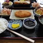 遊麺屋 - トンカツ定食