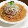 レストラン ファーストシーン - 料理写真:カモとねぎの八丁味噌クリーム