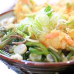 麺処 天めん - 天ぷら/山菜 うどん