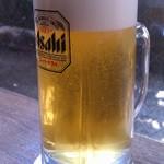 かに道楽 - 生ビール(730円)