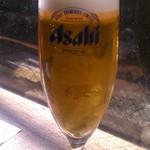 かに道楽 - 生ビール(580円)