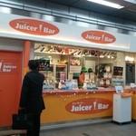 ジューサーバー - よくあるジュース屋さんの風景(´・ω・`)カナ