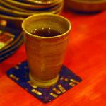 ずず - ホット黒烏龍茶 200円