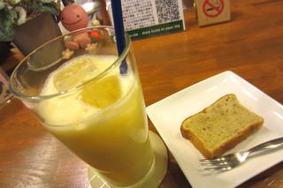 山口果物 - お店のお勧めMIXジュース¥350