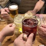 124204450 - 赤玉パンチで乾杯!