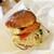 よしうみローズ館 - がっつき鯛バーガー。620円