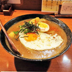 たま樹 - スープwith目玉焼き