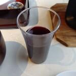 日本料理 笛吹川 - 【2020.1.26(日)】和朝食(葡萄ジュース)
