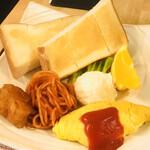 太郎茶屋 鎌倉 - 料理写真:モーニング メインプレート