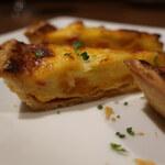 BISTRO KOUZO - 雲丹と彩り野菜のキッシュ