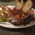 椿ダイナー - 前菜3種盛り