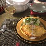 椿ダイナー - フラットチーズオムレツ