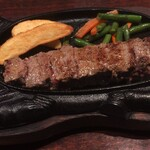 STEAKHOUSE 88 - 赤肉ステーキ 1,980円
