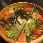 博多よし魚 - 豆腐のチョレギサラダ