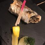 博多よし魚 - 太刀魚の塩焼き