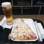 SPONTINI - マルゲリータ600円/ 生ビール(セット250円)