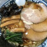 麺や吉風 - 料理写真:醤油チャーシュー 麺大盛