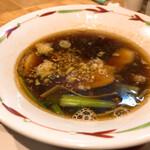 124223454 - 醤油つけめん(太麺) 900円