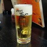 やきとり正や - 熟撰生ビール