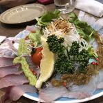 湘南野菜と魚 Gita弥平 - カルパッチョ