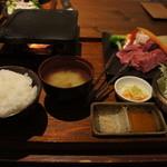 和牛旬菜  咲蔵 - お手軽三身三味120g1400円