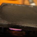 和牛旬菜  咲蔵 - 石焼き