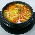 韓国村 - 豆腐チゲ