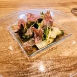 Il cielo  - ハムとイタリア野菜のサラダ