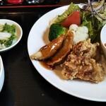 ごん神 - 料理写真:中華定食っぽくない、サラダの美しさ。